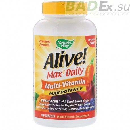 Alive! Max3 Daily Multi-Vitamin