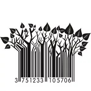 The barcode: